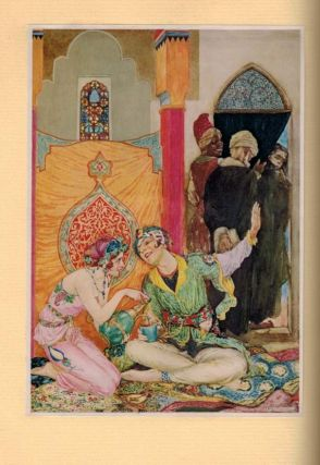RUBAIYAT OF OMAR KHAYYAM. The First and Fourth Renderings in English Verse by Edward Fitzgerald. With Illustrations by Will Pogany.