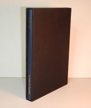 QUTUB. Also Called The Point. Written and Illustrated by Andrew D. Chumbley. Alogos Dhu'l-Qarnen. First Edition, Variant or Sample of the Deluxe Issue.