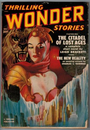THRILLING WONDER STORIES magazine, Vol 37, No 2, December, 1950 issue. Vol 37 THRILLING WONDER...