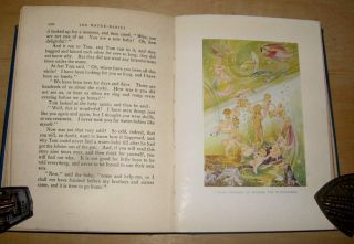 THE WATER-BABIES. A Fairy Tale for a Land Baby. Abridged for Boys and Girls by B. laurie and with Eight Plates in Colour by Arthur Gatlish.