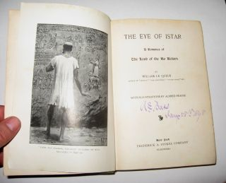 THE EYE OF ISTAR. A Romance of the Land of No Return. With Illustrations by Alfred Pearse.