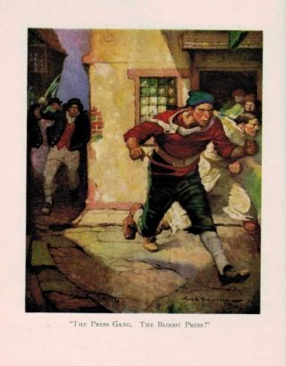 PRIVATEERS OF '76. Illustrated by Frank E. Schoonover.