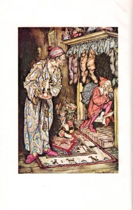 THE NIGHT BEFORE CHRISTMAS By Clement C. Moore, LL.D. Illustrated by Arthur Rackham.