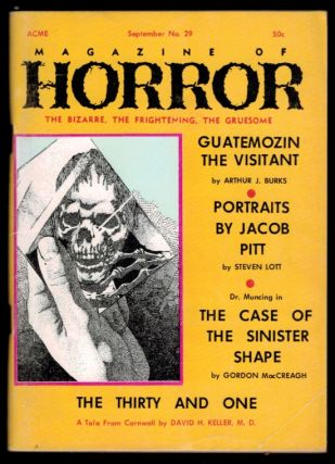 MAGAZINE OF HORROR. Vol 5, No 5, September 1969 issue (Whole Number 29). No 5 MAGAZINE OF HORROR....