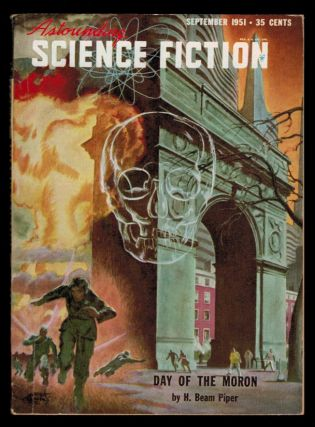 ASTOUNDING SCIENCE FICTION. Vol XLVIII, No 1, September, 1951 issue. No 1 ASTOUNDING SCIENCE...