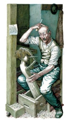THE ADVENTURES OF PIOCCHIO. The Story of a Puppet. By Carlo Collodi. Illustrated by Iassen Ghiuselev.