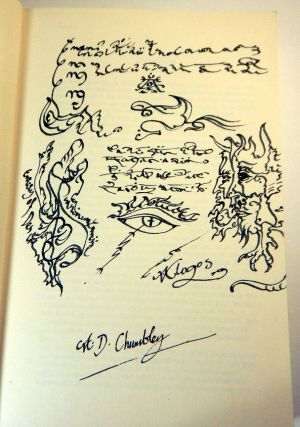THE AZOETIA. A Grimoire of the Sabbatic Craft. First Edition, Signed and with a full-page ink drawing by the author.
