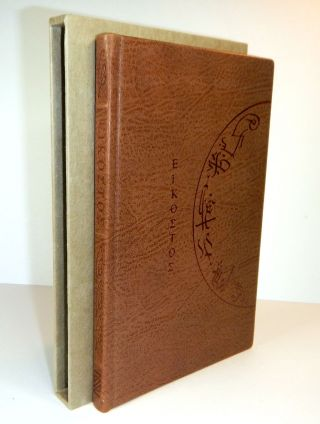 EIKOSTOS. Xoanon Limited, 1992-2012. A Bibliography. Private Reserve Edition, Limited to 22...