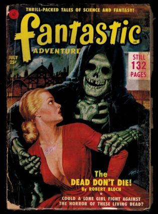 FANTASTIC ADVENTURES Magazine, Vol 13, No 7, July, 1951 issue. Vol 13 FANTASTIC ADVENTURES...