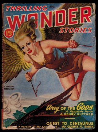 THRILLING WONDER STORIES magazine, Vol XXX, No 1, April, 1947 issue. Vol XXX THRILLING WONDER...