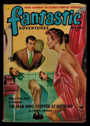FANTASTIC ADVENTURES Magazine, Vol 13, No 11, November, 1951 issue. Vol 13 FANTASTIC ADVENTURES...