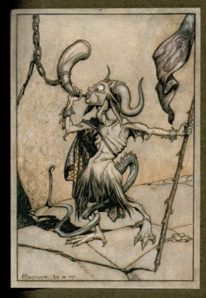 THE INGOLDSBY LEGENDS OF MIRTH AND MARVELS. Illustrated by Arthur Rackham.