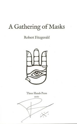 A GATHERING OF MASKS. Signed First Edition.