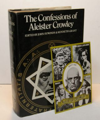 THE CONFESSIONS OF ALEISTER CROWLEY. An Autohagiography. Edited by John Symonds and Kenneth Grant. DAVID TIBET'S COPY.