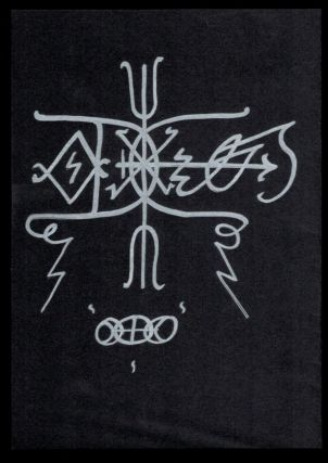 QUTUB. Also Called The Point. Written and Illustrated by Andrew D. Chumbley. Alogos Dhu'l-Qarnen. First Edition, Deluxe Issue. Inscribed by Chumbley to Soror Pasht-Ahkti, a fellow member of the Cultus Sabbati.