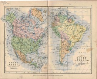ELEMENTARY SCHOOL ATLAS OF GENERAL AND DESCRIPTIVE GEOGRAPHY.