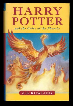 HARRY POTTER AND THE ORDER OF THE PHOENIX. First Canadian Edition. ROWLING. J. K