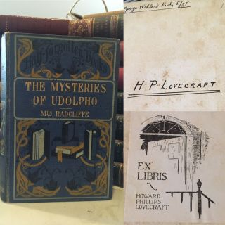 THE MYSTERIES OF UDOLPHO. A Romance. With an Introduction by D. Murray Rose. H.P. LOVECRAFT'S...