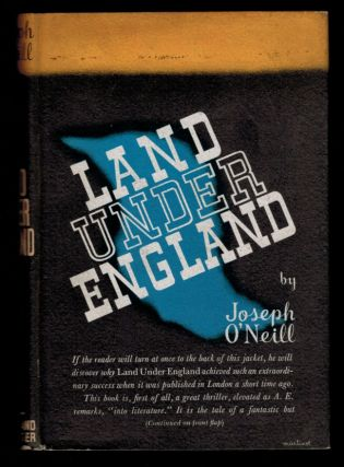 LAND UNDER ENGLAND. Joseph O'NEILL