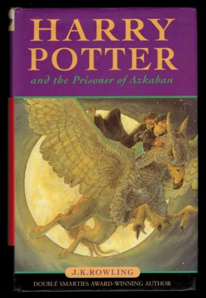 HARRY POTTER BOXED SET [comprising] HARRY POTTER AND THE PHILOSOPHER'S STONE [along with] HARRY POTTER AND THE CHAMBER OF SECRETS [along with] HARRY POTTER AND THE PRISONER OF AZKABAN. Early Canadian Hardcover editions.