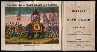 Chapbook: THE HISTORY OF BLUE BEARD AND FATIMA.; Embellished with Handsome Copper-Plate...