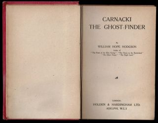 CARNACKI THE GHOST FINDER.