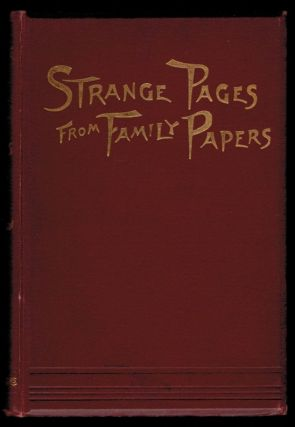 STRANGE PAGES FROM FAMILY PAPERS