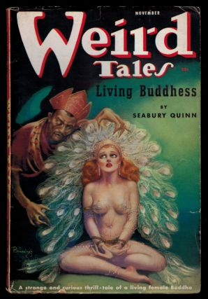 WEIRD TALES Magazine. Vol. 30, No 5 - November 1937 issue. No 5 - November 1937 issue WEIRD TALES...