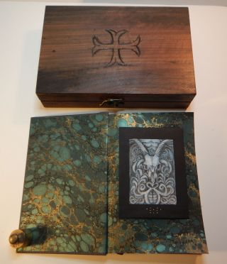 THE BARON CITADEL: The Book of the Four Ways. With Illustrations by Carolyn Hamilton-Giles. Special Reserve Edition, One of 13 copies in a Hand-Carved Reliquary Box,