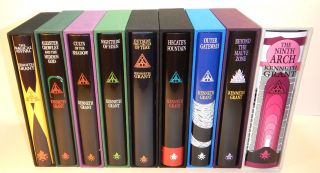 THE COMPLETE TYPHONIAN TRILOGIES. Deluxe Editions, Signed & Limited, Bound in Quarter Black...
