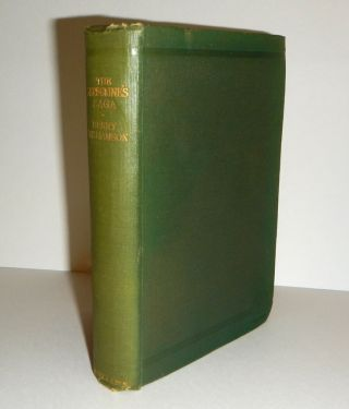 THE PEREGRINE'S SAGA And Other Stories of the Country Green. Illustrated by Warwick Reynolds....
