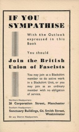FASCISM: 100 Questions Asked and Answered.