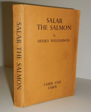 SALAR THE SALMON. Advance Proof Copy. Henry WILLIAMSON