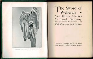 THE SWORD OF WELLERAN And Other Stories. With Illustrations by S.H. Sime.