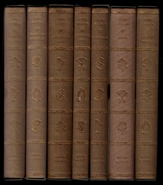 THE WORKS OF JANE AUSTEN [comprising] PRIDE AND PREJUDICE, SENSE AND SENSIBILITY, MANSFIELD PARK,...
