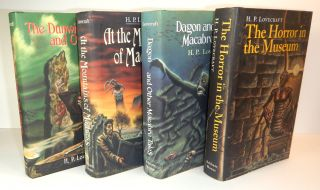 THE DUNWICH HORROR AND OTHERS [along with] AT THE MOUNTAINS OF MADNESS AND OTHER NOVELS [along...