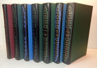 THE COMPLETE NOVELS OF THE BRONTËS [Comprising] WUTHERING HEIGHTS, JANE EYRE, THE TENANT OF WILDFELL HALL, VILLETTE, SHIRLEY, AGNES GREY, & THE PROFESSOR. Seven Volumes. The First Folio Society Editions, Slipcased.