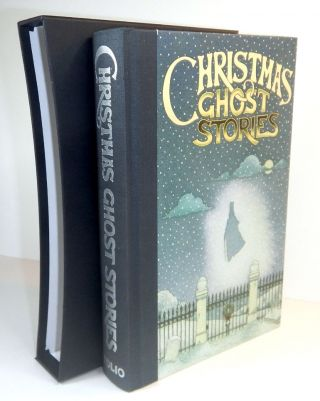 THE FOLIO BOOK OF CHRISTMAS GHOST STORIES. Illustrations by Peter Suart. ANONYMOUS ANTHOLOGY