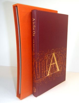A IS FOR OX. A SHORT HISTORY OF THE ALPHABET. Lynn DAVIES