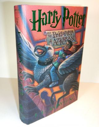 """HARRY POTTER AND THE PRISONER OF AZKABAN. Prize Copy of the First American Edition, with a Letter from Rowling sent """"By Owl Post"""" and a Signed Bookplate."""