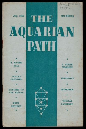 THE AQUARIAN PATH. Five Issues, July 1950 - June 1951. F. CLIVE-ROSS, Francis