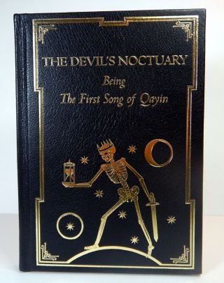 THE DEVIL'S NOCTUARY; Being A Prophetic Fragment From The First Song of Qayin. Here Transcribed...