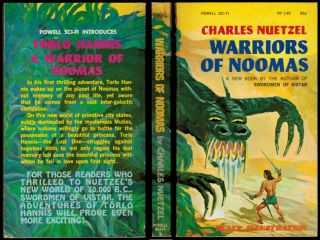 WARRIORS OF NOOMAS. Illustrated by Louis DeWitt.