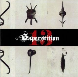 SUPERSTITION XIII: Book Arts From The Shadow World. [Xoanon, Three Hands Press, Ouroboros Press...