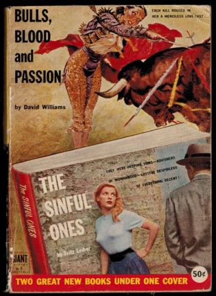 BULLS, BLOOD AND PASSION by David Williams [along with] THE SINFUL ONES by Fritz Leiber. Fritz...