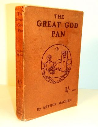 THE GREAT GOD PAN and THE INMOST LIGHT.