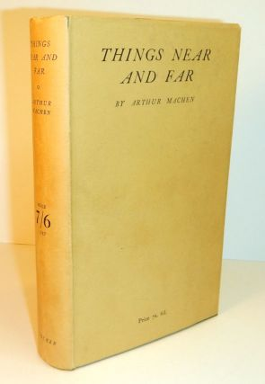 FAR OFF THINGS [along with] THINGS NEAR AND FAR. First Editions in Dust Jackets.