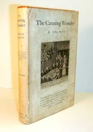 THE CANNING WONDER. Arthur MACHEN