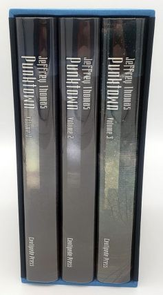 PUNKTOWN. Three Volume Set, Slipcased. Illustrated by David Ho, with Introductions by John...