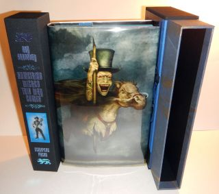 SOMETHING WICKED THIS WAY COMES. Introduction by Neil Gaiman. Artwork by Matt Mahurin, David Ho,...